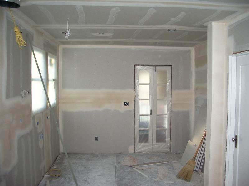 Office Sheetrock