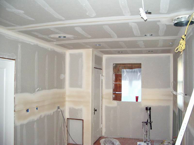 Bedroom Sheetrock
