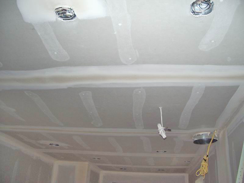 Kitchen Ceiling Sheetrock