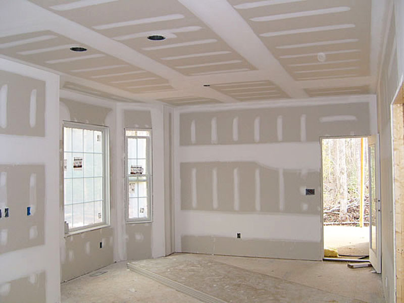 Family Room Sheetrock