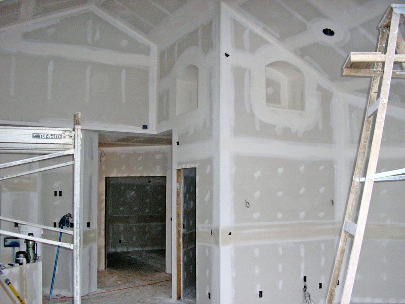Master Bedroom Sheetrock